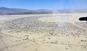 Burning Man City shot